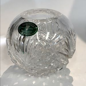 Irish full lead crystal by Heritage bowl